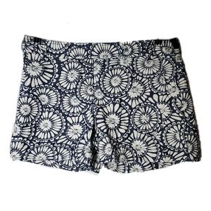 NEW Blue and White Patterned Shorts